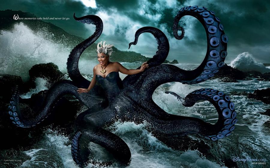 La Sirenita. Queen Latifah como Úrsula