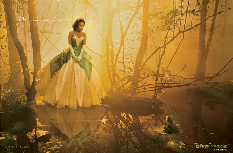 La Princesa y el Sapo. Jennifer Hudson como Tiana