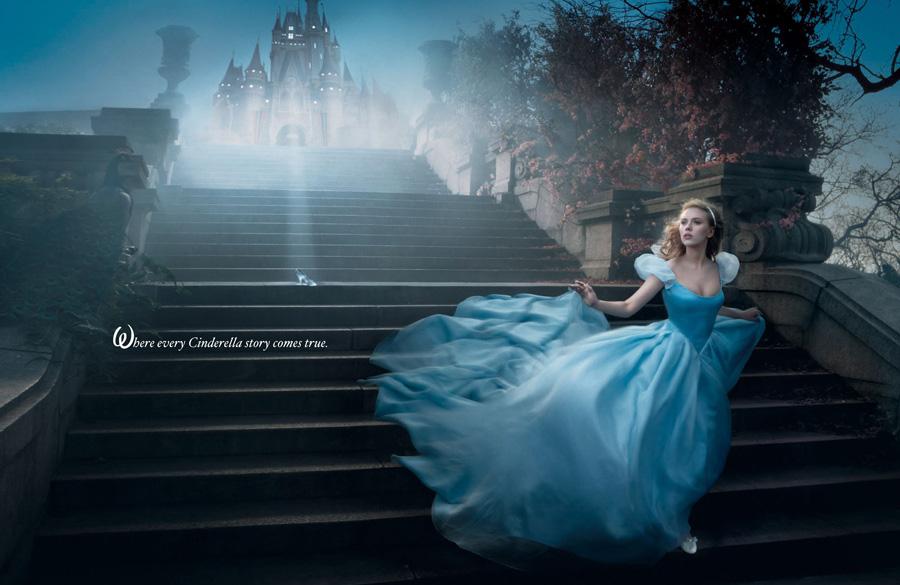 Scarlett Johansson como La Cenicienta