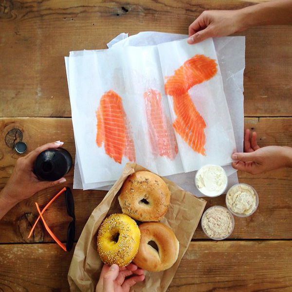 lox-and-bagel