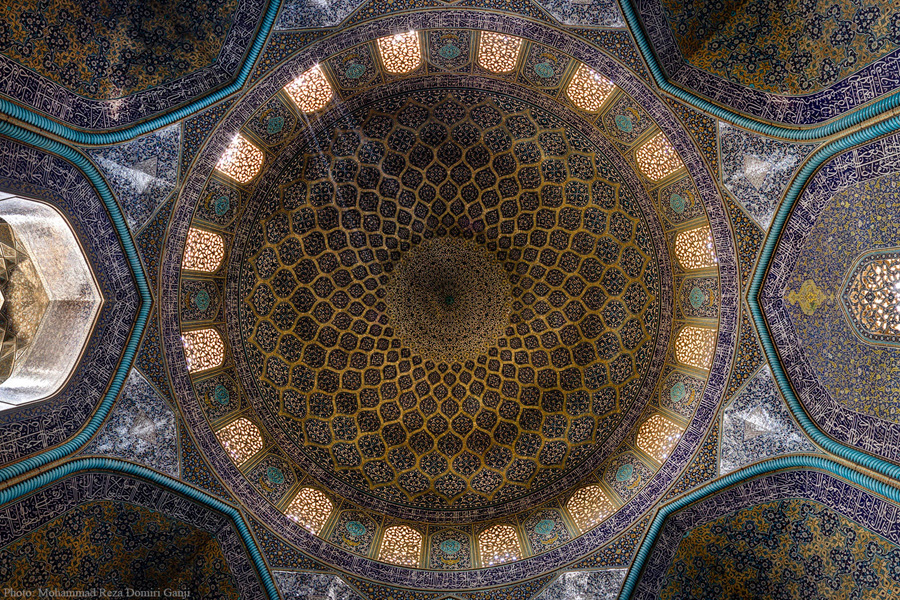 Sheikh-Lotfollah-Mosque---Dome---Isfahan