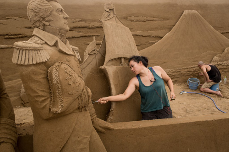 Yokohama Sand Art Exhibition-03