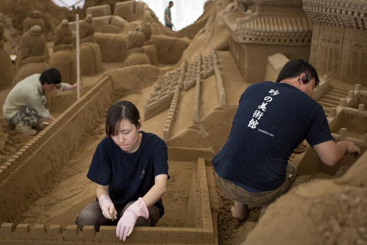 Yokohama Sand Art Exhibition-07
