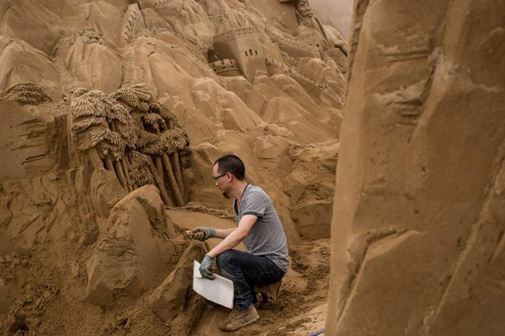 Yokohama Sand Art Exhibition-10