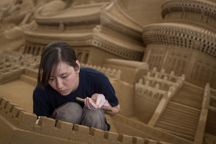 Yokohama Sand Art Exhibition-12
