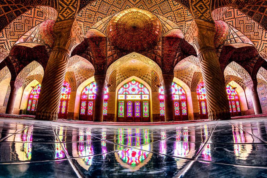 nasir-almulk-fisheye---Shiraz